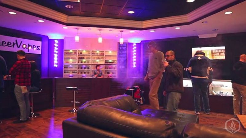 Image of Pubs are becoming vaping lounges in London