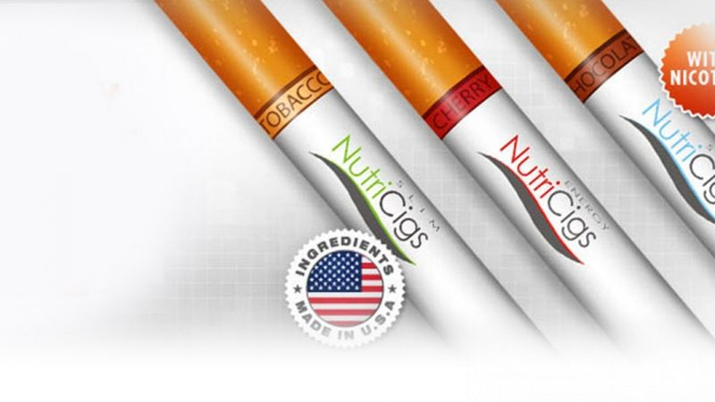 Image of NutriCigs – The fortified disposable electronic cigarettes