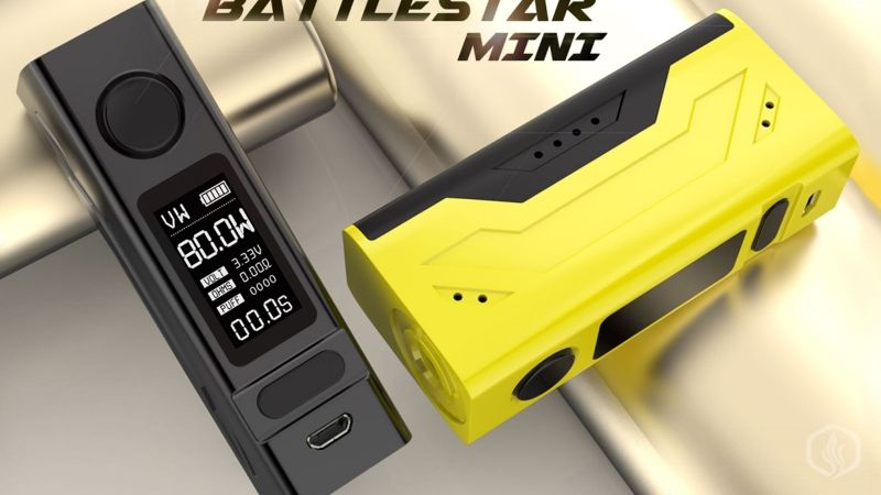 Image of Smoant's new Battlestar Mini and Cylon - A quick look