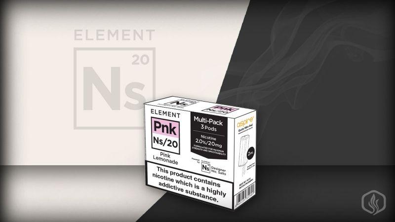 Element NS20 nic salts Pnk