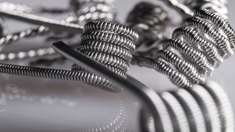 Image of Most common type of wires for vaping