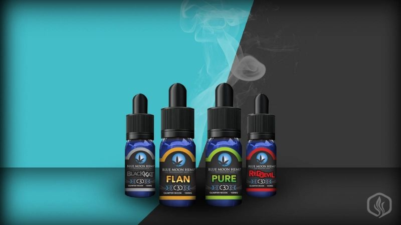 Blue Moon Hemp CBD e-liquids