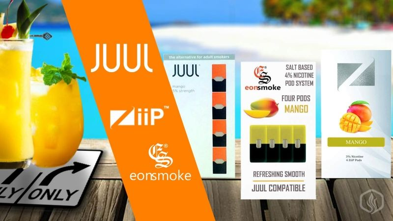 Image of 3 rd Party alternatives for JUUL pods (Updated)