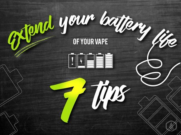 7 Ways to extend your vape's Battery life Image