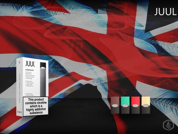 JUUL e-cigs now available in the UK Image