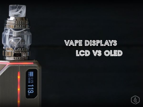 Types of vape displays: why are OLED and TFT better than LCD Image