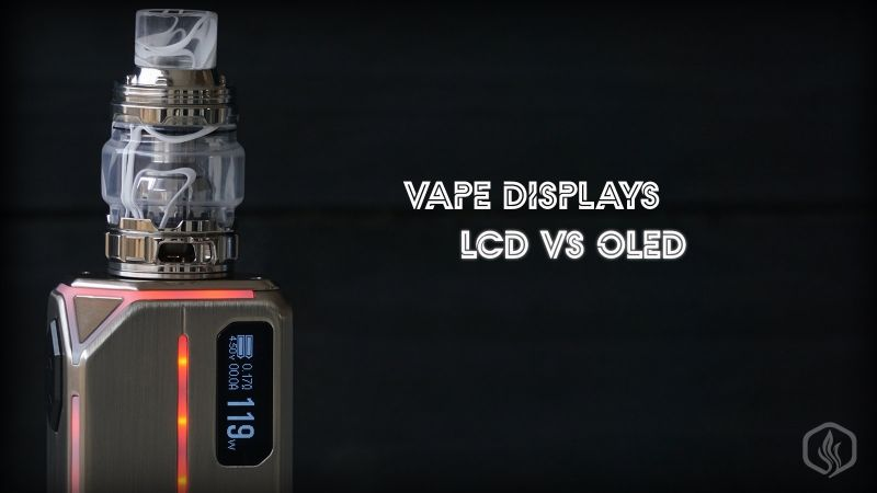 Image of Types of vape displays: why are OLED and TFT better than LCD