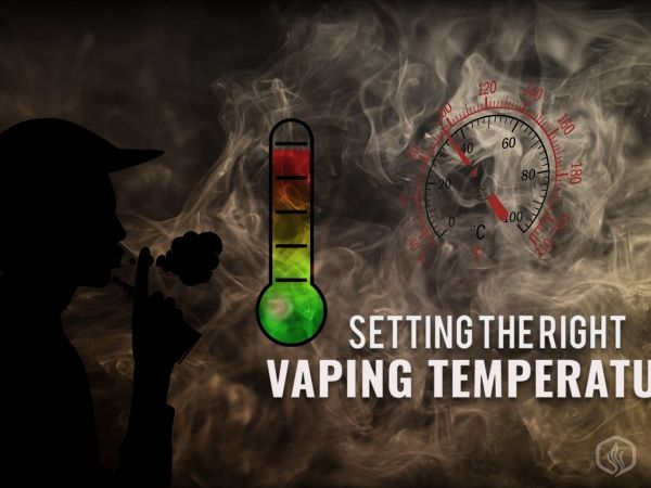 Always Setting the right vaping temperature. A guide on vapes w temp control Image