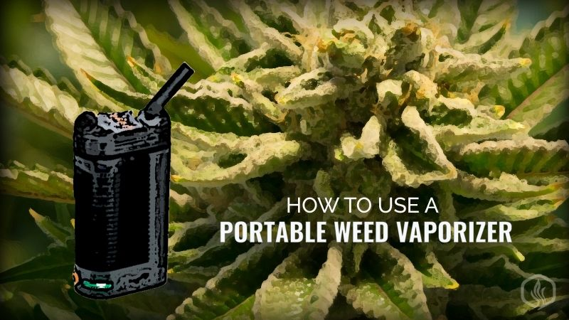 Image of How to use a portable weed vaporizer