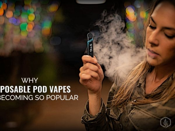 Why Disposable Pod Vapes are becoming so popular Image